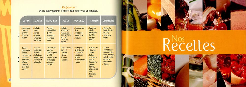 Livre de repas di t tiques cuisine simple et pas ch re - Livre de cuisine simple ...